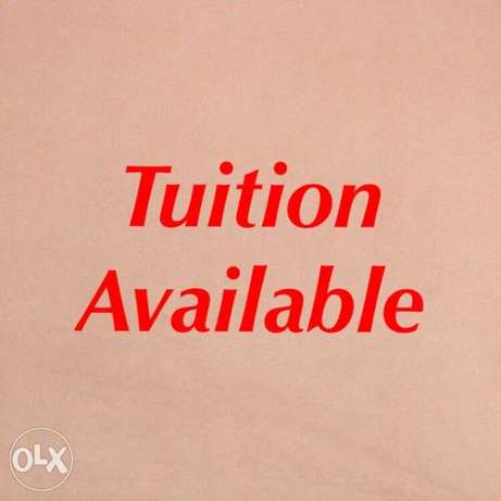 home tuition abailable