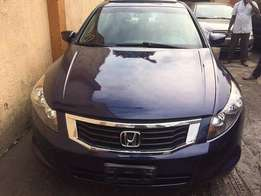 Honda Accord 2008 model tokunbo 08