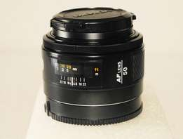 50mm AF f1.7 Prime lens for sony alpha