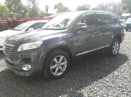 Metallic Grey Toyota Vanguard,2010 Model,2400cc,Seven Seater and Alloy