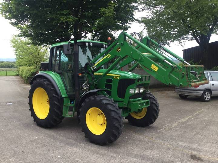 John Deere 6330 Pq Plus C/w Jd 633 S/l Loader - 2011