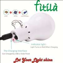 powered by sunshine fitila lamp.