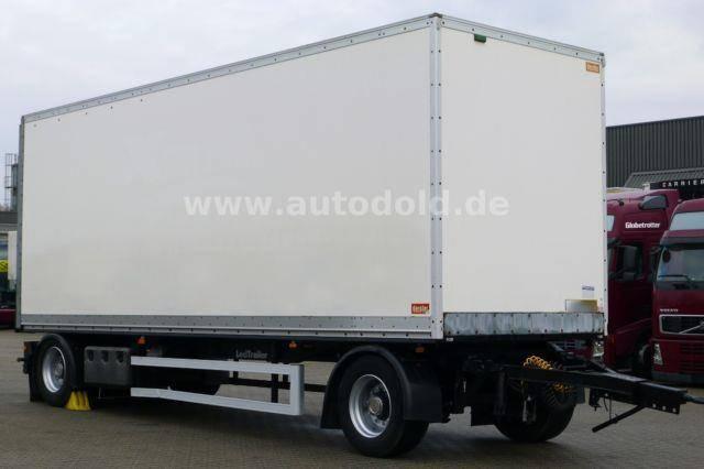 Lecitrailer R2S Koffer ROR Achsen Scheibenbremse - 2008
