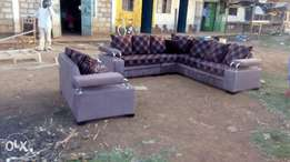 seven seater Lseat with two seater