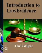 Introduction to Law of Evidence by Chris Wigwe