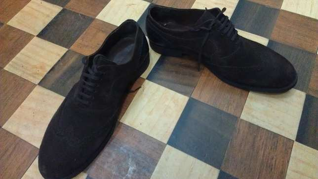 an authentic ZARA MAN pure suede leather wingtip derby size 43(uk 9) Kampala - image 8
