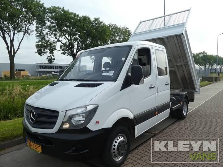 Mercedes-Benz SPRINTER 513 CDI D.C dub.cabine kipper, a - 2014