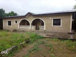 Building of Three bedroom and miniflat bungalow at Igando