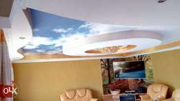 GYPSUM CEILINGS and walldrops