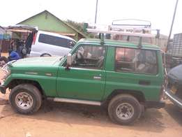 Manual prado short landcruiser