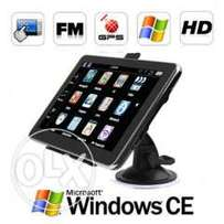 Large 7 Inch GPS Car Navigation Navigator Tablet at R1000 each