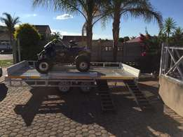 Yamaha Quad & 2015 4M Trailer