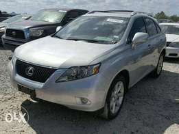 Clean Lexus Rx350 is available