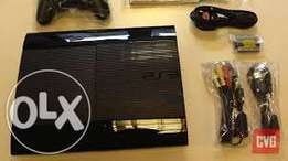 Playstation 3 super slim chipped new model with free games