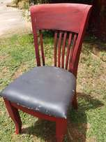 Painted Retro Chair J 1962
