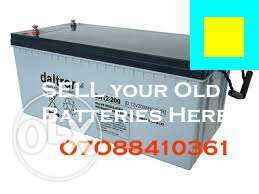 Battery Recycling in Gbagada Lagos