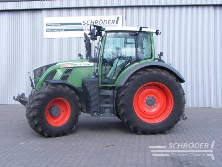 Fendt 724 vario s4 power - 2016