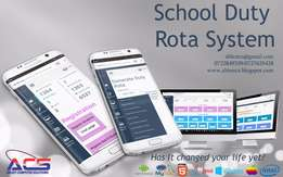 SCHOOL DUTY ROTA SYSTEM -Ablest Computer Solutions