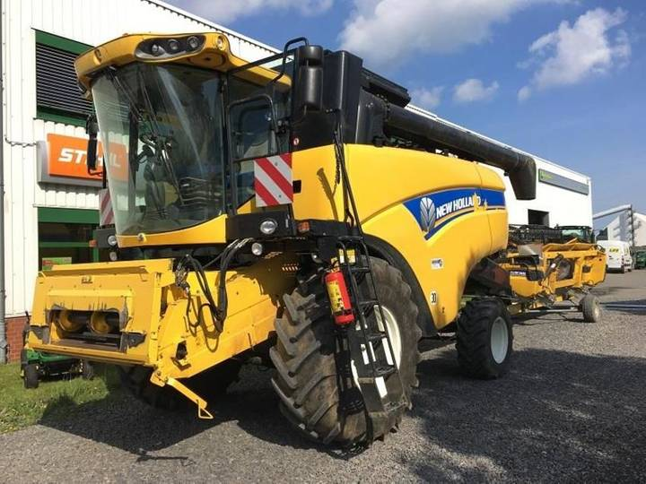 New Holland cx5080 - 2014
