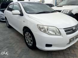 Toyota axio 2008 model on sale