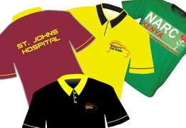 Branding of T-Shirts, Overalls, Uniforms etc