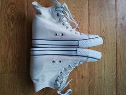 0a82856d5a6c6 Buty trampki białe na koturnie rozmiar 38