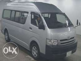 Toyota hiace 9l long chase Matatu box momo 2wd, finance terms accepted