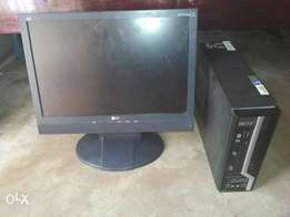 """Acer sff PC and LG 19"""" monitor"""