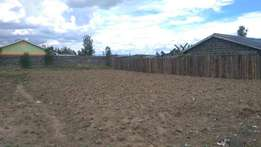 1/8 acre plot 2nd row from tarmac in pipeline,Nakuru