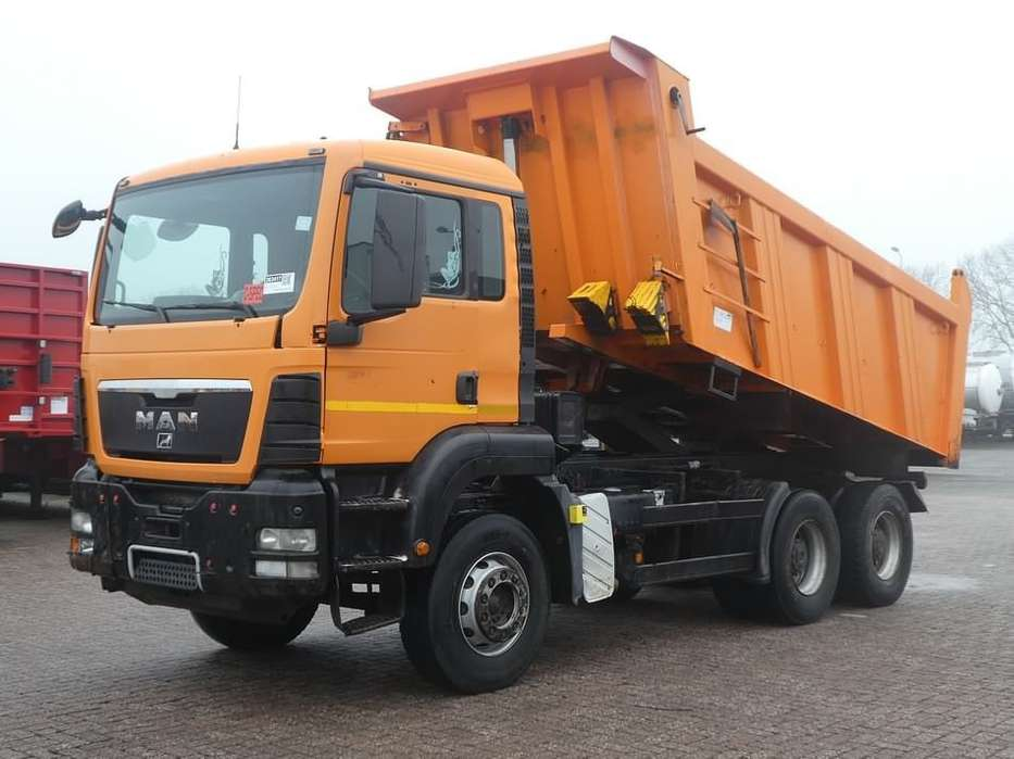 MAN 33.350 TGS 6x4 full steel 16m3 - 2011