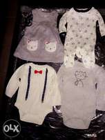Baby wears for new born by Carter's and Circo(0-3M)