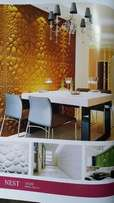 WallPapers, 3D wall panels, Window Blinds