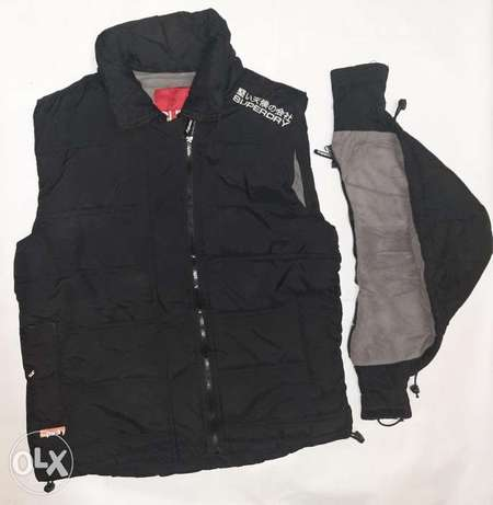 Superdry vest L size from England.