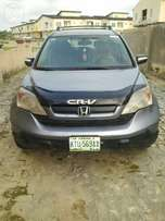 Registered HONDA CRV 2007 Model available for sell