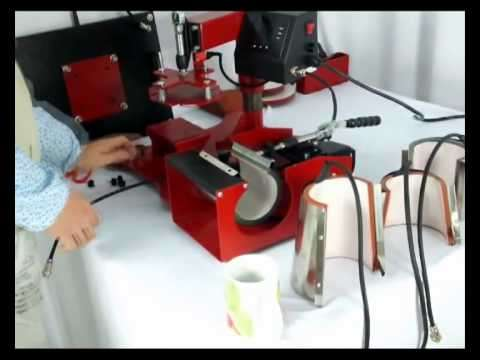 3D and 5 in 1 / Flat bed Heat press for branding T-shirts, Caps Nairobi CBD - image 2