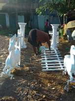 wedding pillars available for sale and horses
