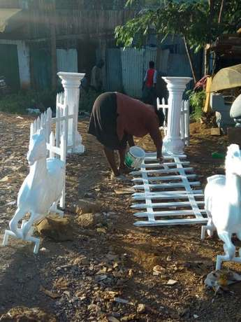 wedding pillars available for sale and horses Kahawa West/Njua - image 1