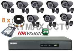cctv (8camera full set) offer