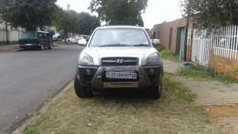 2007 Hyundai Tucson,4wwd 2.7itre automatic,95,000kms