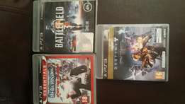 3 ps3 games for sale R300