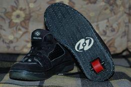 621705be Чорні кросівки ролики скейтери HEELYS STYLE#:7135 38р 24 см