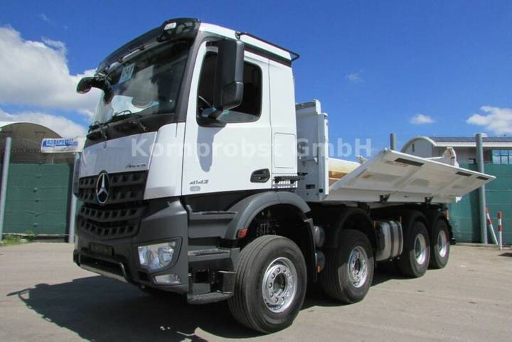 Mercedes-Benz 4142 K 8x4 BB - BORDMATIK - Nr.: 041 - 2018