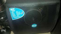 bass speakers rcf