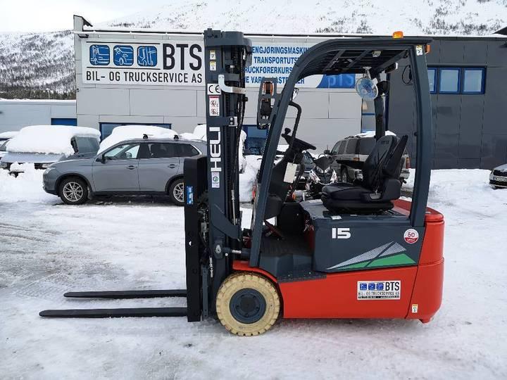 Heli Cpd15sq-gb2 - 1,5 Tonns El. Truck - 2019