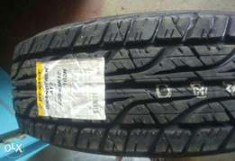 Brand new Dunlop tyres 265/65r17