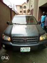 Nigeria used Toyota Highlander 2003 model