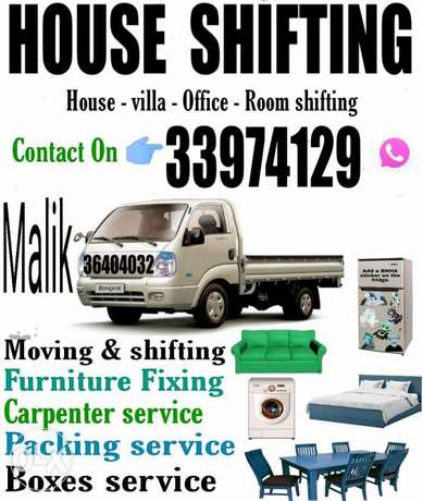 Shifting moving villa house hold items normal price
