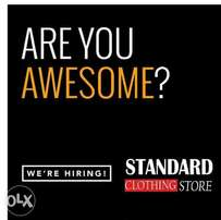 Shop attendants wanted