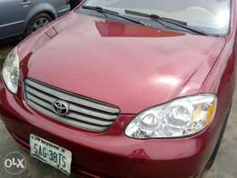 Clean Toyota corolla 2004 model for sale