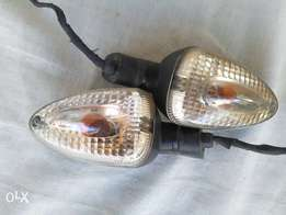 R1200 GS clear rear indicators